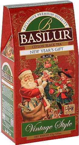 Basilur Tea Vintage Style New Year's Gift (Karton)