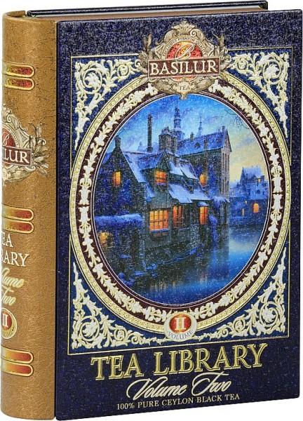 Basilur Tea Library II. Blue schwarzer loser Tee