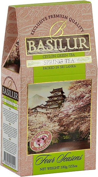 Basilur Tea Four Seasons Spring Tea (Karton)