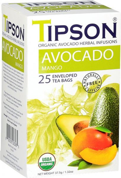 Tipson Tea BIO Avocado-Mango-Hülle 25x1,5g