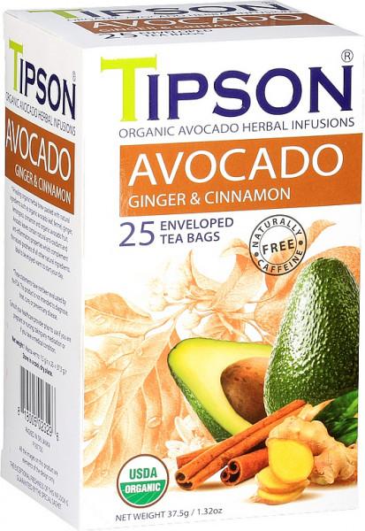 Tison Tea BIO Avocado Ingwer & Zimt Hülle 25x1,5g