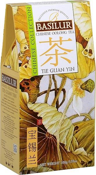 Basilur Tea Chinesische Krawatte Guan Yin Papier