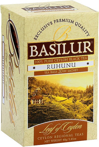 Basilur Tea Leaf of Ceylon – Ruhunu (20 Beutel)