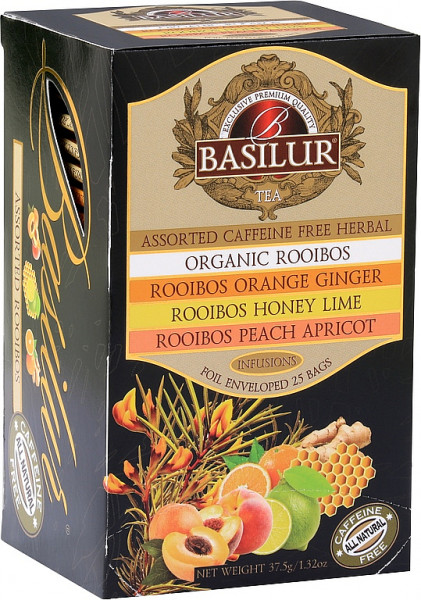 Basilur Tea Assorted Caffeine Free Herbal