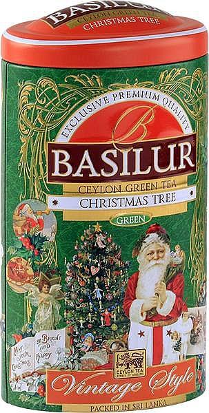 Basilur Tea Christmas Tree grüner loser Tee