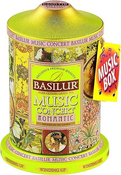 Basilur Tea Music Concert Romantic (Blechdose mit Musik)