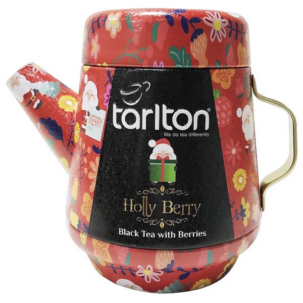 Tarlton Tea Teekanne Holly Berry Schwarzteedose
