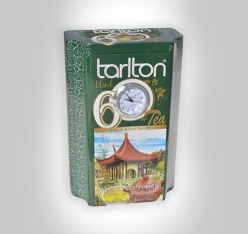 Tarlton Tea lose grüner Tee mit Quartz Uhr