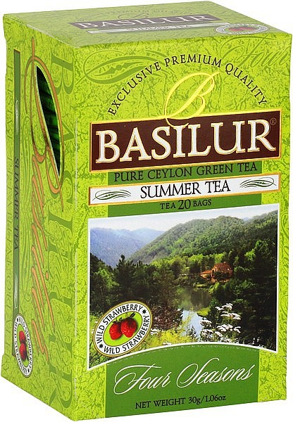Basilur Tea Four Seasons Summer Tea (20 Beutel)