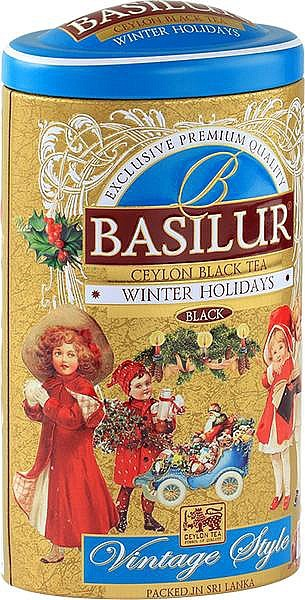 Basilur Tea Winter Holiday schwarzer loser Tee