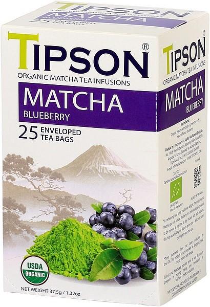 Tipson Tea Matcha Blueberry (25 Beutel)