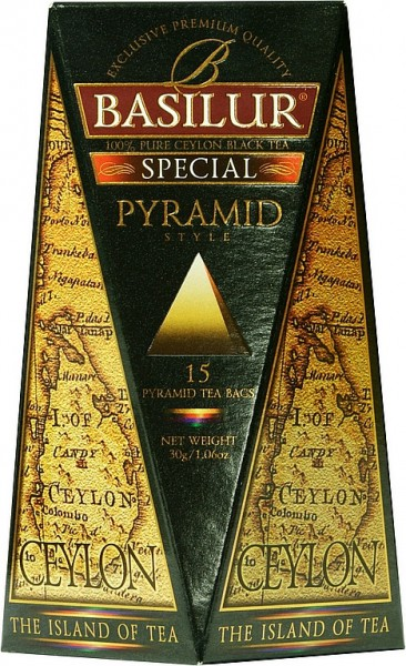 Basilur Tea The Island of Tea – Pyramid Special (15 Beutel)