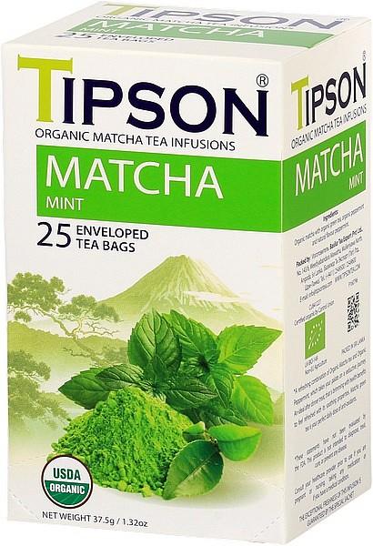 Tipson Tea Matcha Mint (25 Beutel)