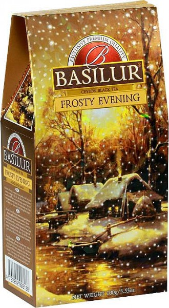 Basilur Tea Frosty Evening (Karton)