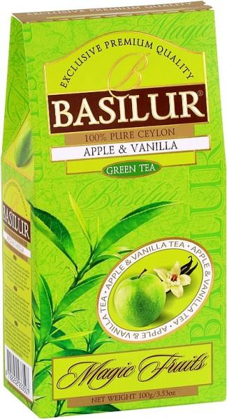 Basilur Tea Magic Fruits Apple & Vanilla (Karton)