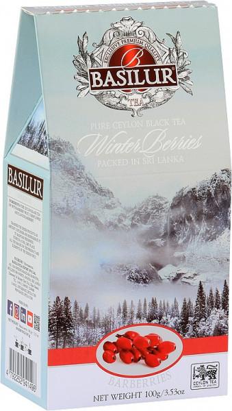 Basilur Tea Winterbeeren Berberitzen im Karton