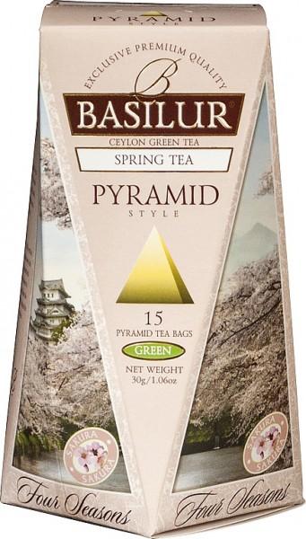 Basilur Tea Spring Tea Pyramid (15 Beutel)