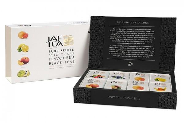 Jaf Tea Pure Fruits Collection Black, 80 Stück